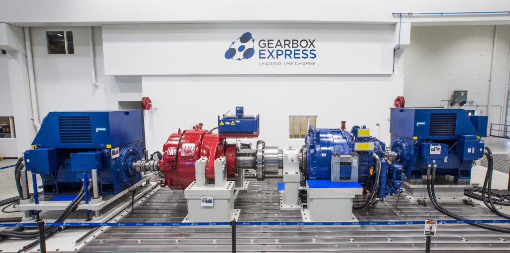 Gearbox Express 3.1MW Test Stand
